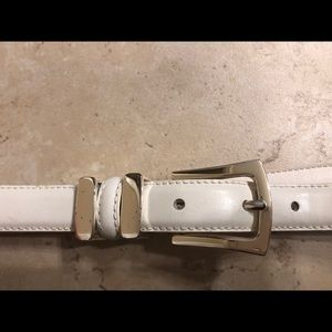 Express Accessories - Express Belts blue and white